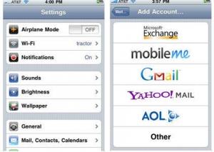 E-Mail Setup