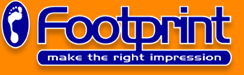 Footprint Web Design Logo