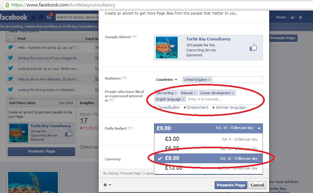 How to set up a Facebook Advert