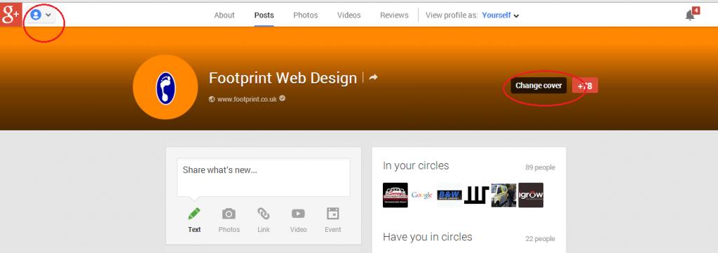 Google+ Page