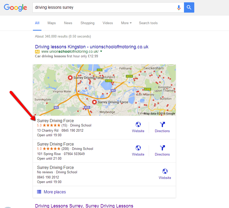 Google_Maps_Listing